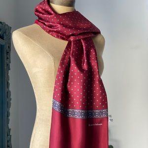 VTG Pierre Balmain Wool & Silk Scarf